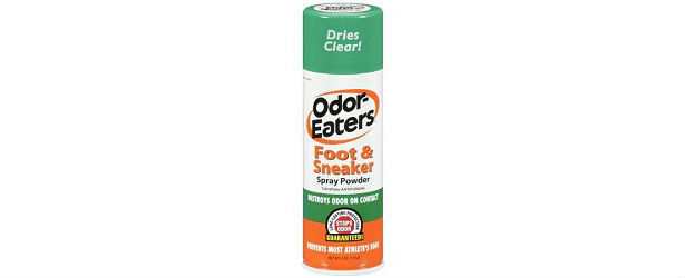 Odor Eaters Antibacterial Foot and Sneaker Spray Powder Review 615