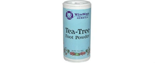 Wise Ways Herbals Tea-Tree Foot Powder Review 615
